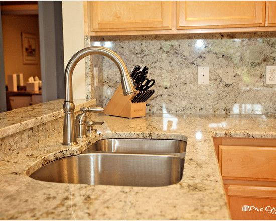 13 Colonial Gold Granite Counters to Install Today on Maple Cabinets With White Countertops  id=35651