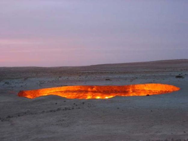 Image result for gates of hell turkmenistan
