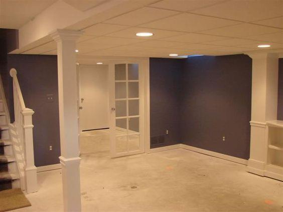 finished basement finished basements finished basement on basement wall paint colors id=12778
