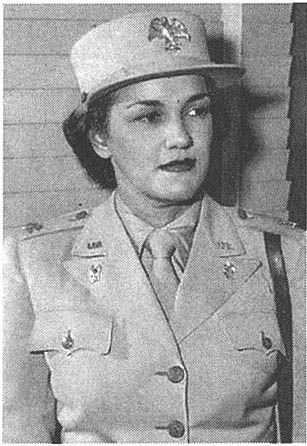"""Harriet M. West was the first Black woman major in the Women's Army Corps (WAC) during World War II (Only two ever existed). Once promoted to that rank and named an aide to WAC director Col. Oveta Culp Hobby, Ms. Waddy was able to take an active role in changing the status of ""colored"" women in the military. She became an advisor to the Army on racial issues"".:"