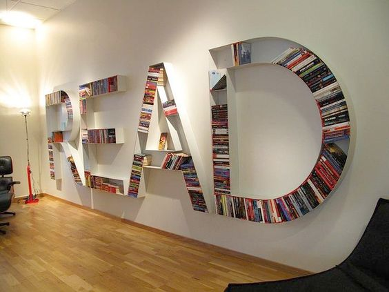 Creative DIY Bookshelves • Great Ideas Tutorials!: