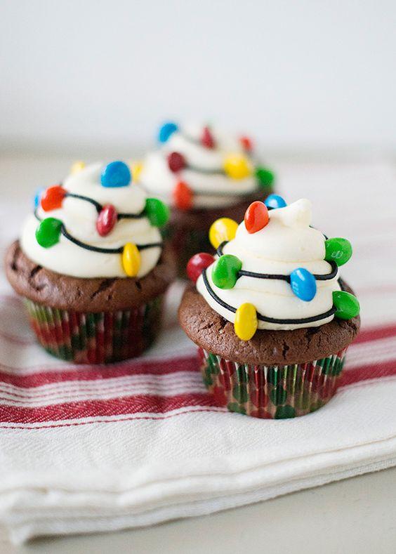 http://bakedbree.com/christmas-light-cupcakes