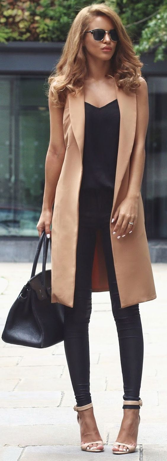 Black and Tan outfit.: