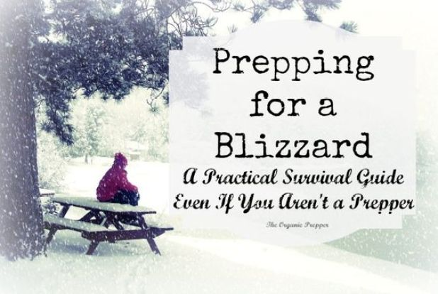 You don't have to be a bunker-dwelling, camo-clad prepper to see the logic behind prepping for a blizzard if you live in a climate where they occur.: