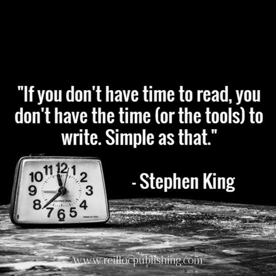 Stephen King on writing: