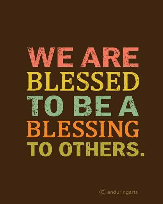 Blessings & Blessed: