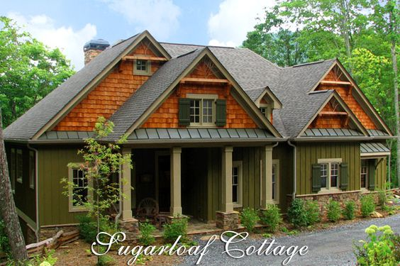 Craftsman Bungalow Style Home Plans