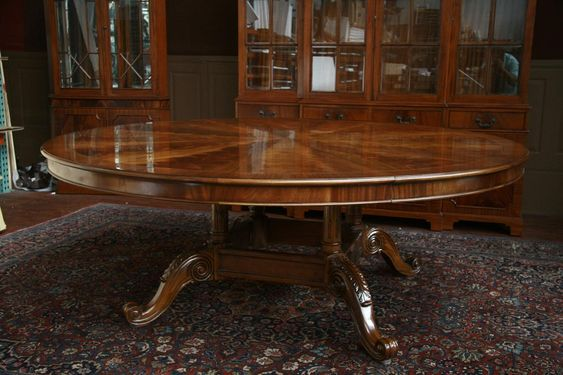Large Round Dining Table, Dining Rooms And For Sale On