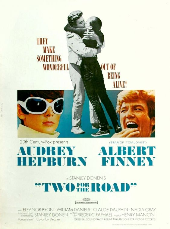 Two for the Road (1967) | directed by Stanley Donnen | starring Audrey Hepburn and Albert Finney: