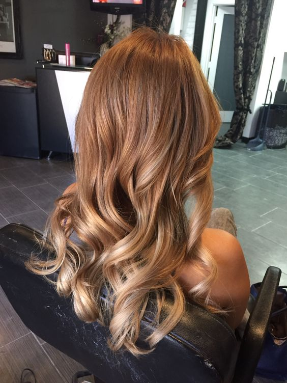 Hair Color Toasted Cumin Red Formula On Natural Level 7