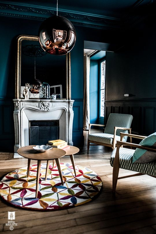 3 European Designers Who are Getting the Dramatic, Moody Look Just Right | Apartment Therapy: