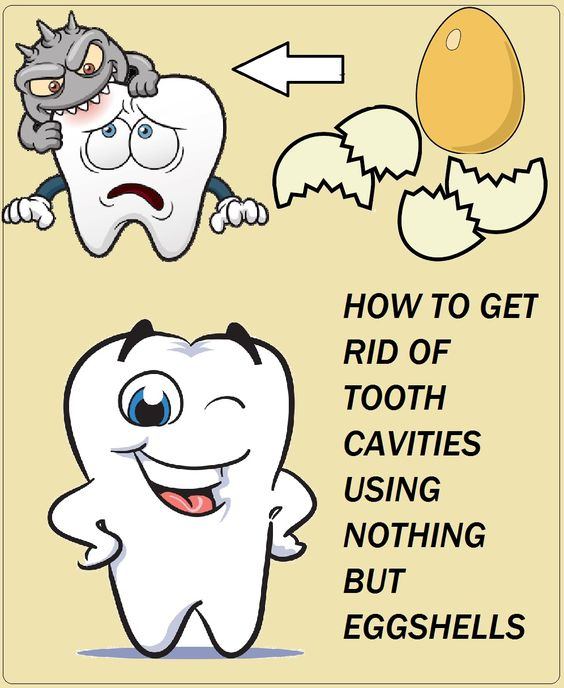 Tooth Cavities Using Only Eggshells: