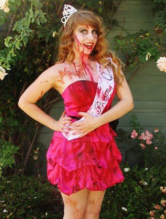 Pageant Queen Halloween Costumes The  sc 1 st  Wallsviews.co & Halloween Costume Ideas Using Old Bridesmaid Dresses | Wallsviews.co