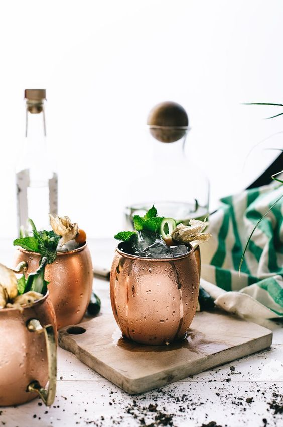 moscow mule idea inspiration cocktail signature drink