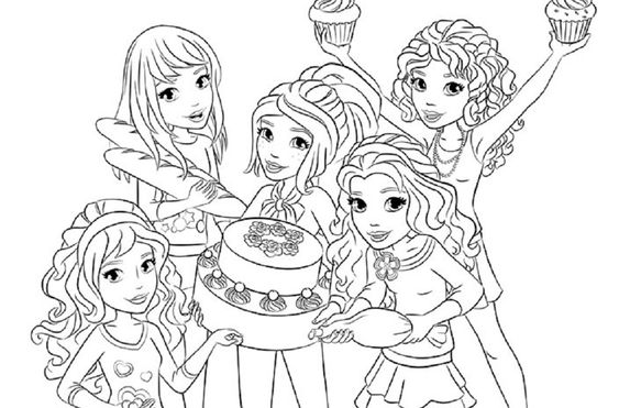 lego friends coloring in pages  woman  pinterest
