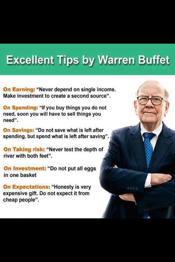 Sell things, Warren buffett and Investing on Pinterest