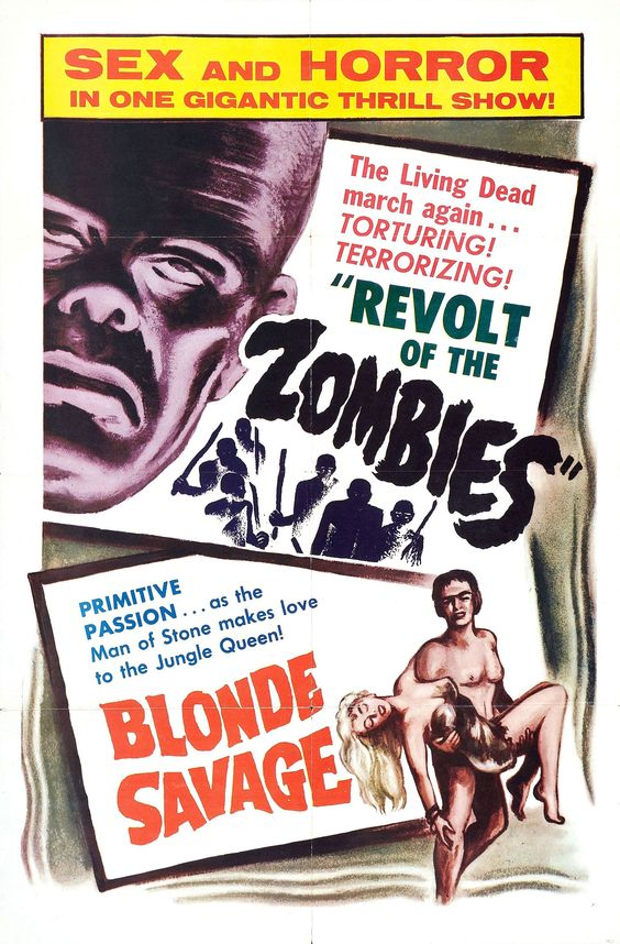 Poster do filme Zombie Blondes