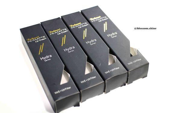 Purbasari Hi-Matte Lip Cream front side box packaging