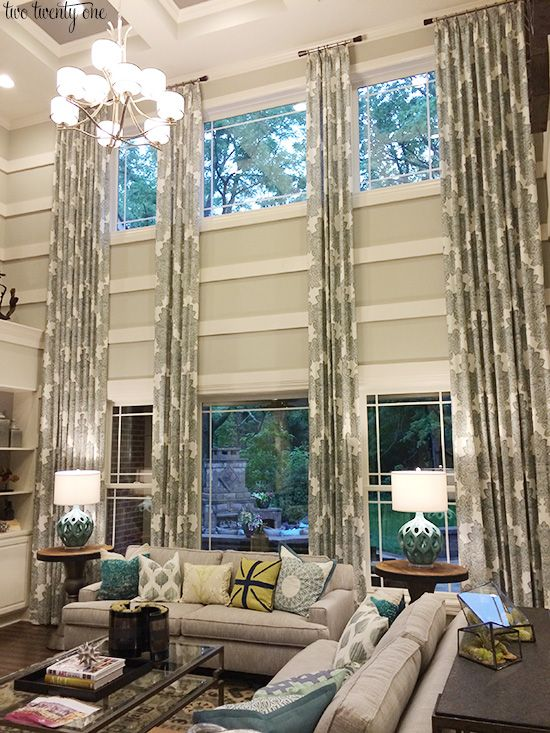 Two Story Windows Living Rooms And Window On Pinterest