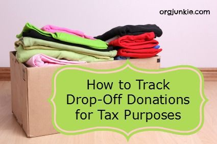 List Website Donation Boxes And Professional Organizers
