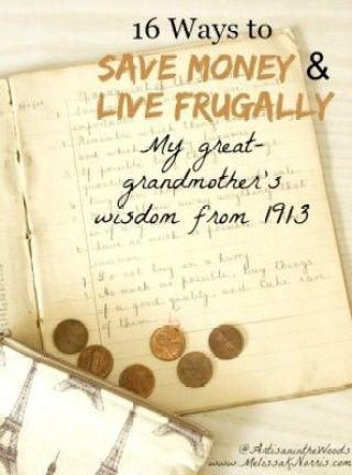 The Homestead Survival | Great Grandmother Wisdom from 1913 about Living Frugally | Homesteading & Frugal Tips http://thehomesteadsurvival.com: