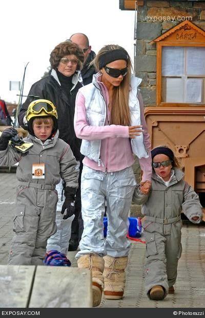 Victoria Beckham Ski Outfits And Victoria On Pinterest