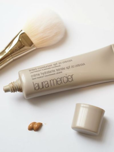 The Laura Mercier tinted moisturizer is a must have especially if you're getting tired of applying your foundation every morning.: