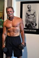 Image result for coffee and senior men exercising