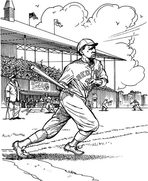 coloring coloring pages and baseball on pinterest