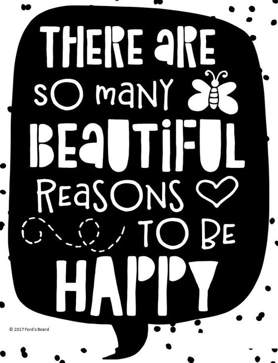 FREE Happiness Quote Poster from fordsboard.com