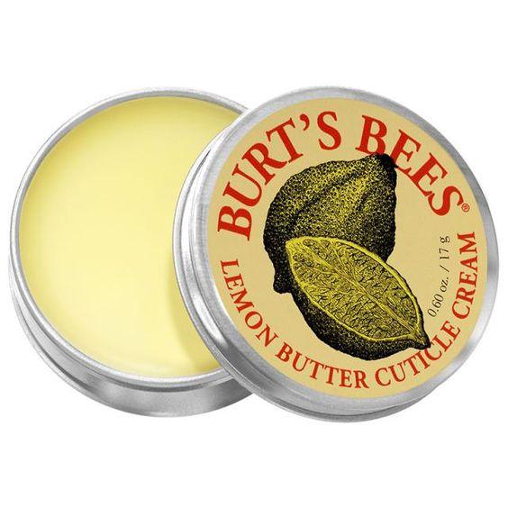 The Best Cuticle Creams: Burt's Bee Lemon Butter Cuticle Cream:
