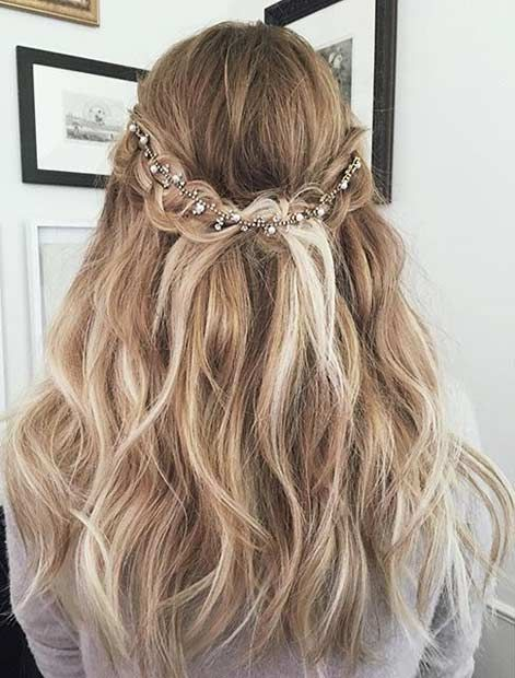 Excellent 50 Gorgeous Prom Hairstyles For Long Hair Society19 Natural Hairstyles Runnerswayorg