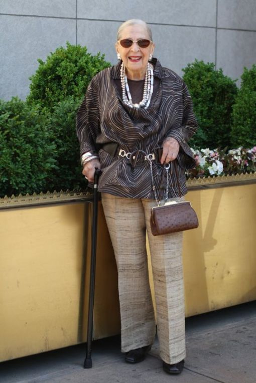 ADVANCED STYLE: Advanced Style Profile Rose:100 Years Old Never Looked So Good!: