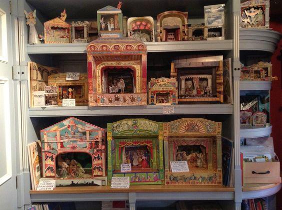 Toy Theatres at Pollock's Toyshop, London: