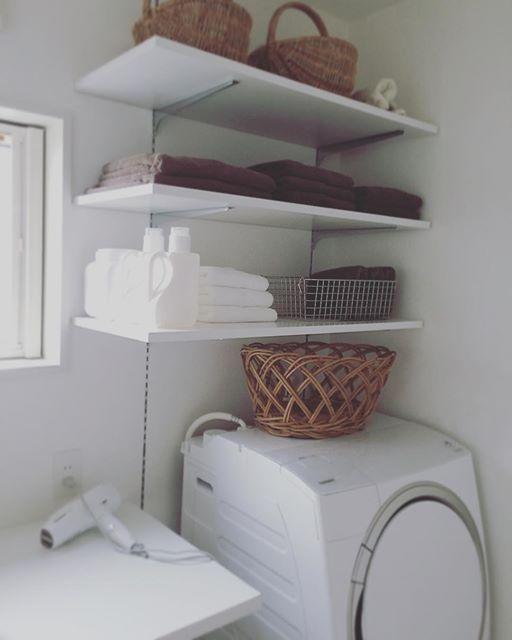 洗濯機 収納 DIY
