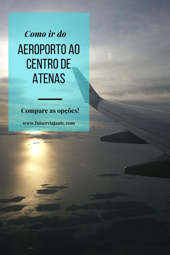 Do aeroporto ao centro de Atenas