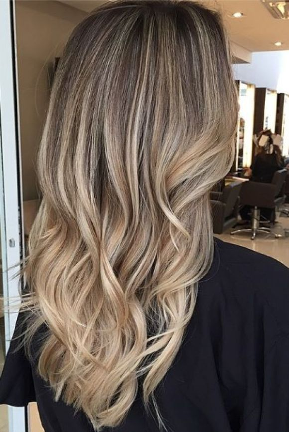 bronde or dark blonde hair color idea: