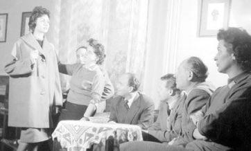 Divatbemutató a Május 1. ruhagyárban, 1960