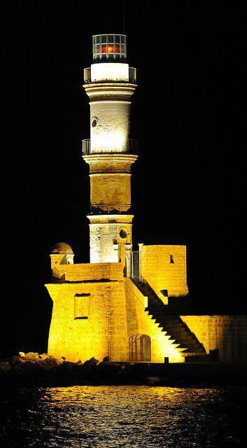 CHANIA'S LIGHTHOUSE , Crete: