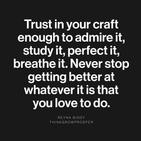 Image result for master your craft pics