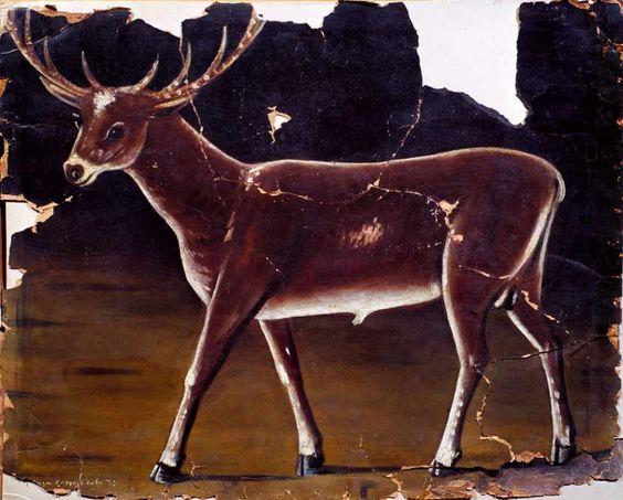 Deer - Pirosmani Niko: