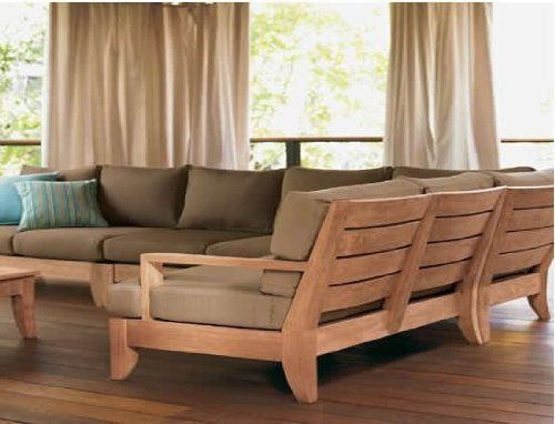 Grade-A Teak Wood Luxurious Sofa Set / Sectional