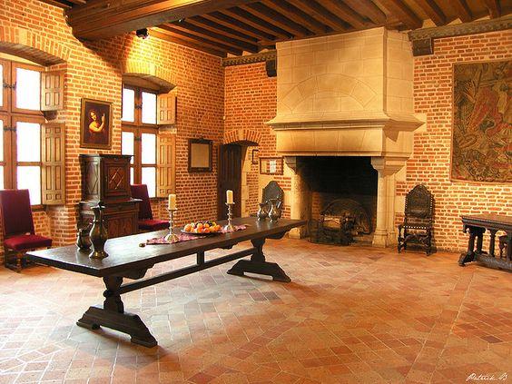 Le Clos Lucé in Amboise, France | le clos luce salle renaissance amboise chateau du clos luce indre et ...: