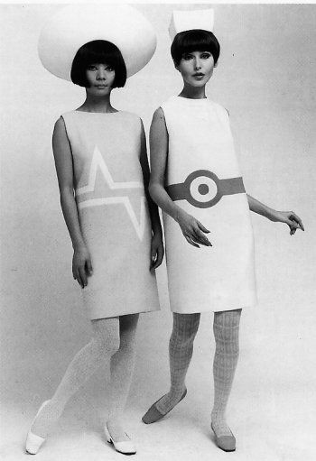 1966 pop-art fashion by cardin Repinned by www.lecastingparisien.com: