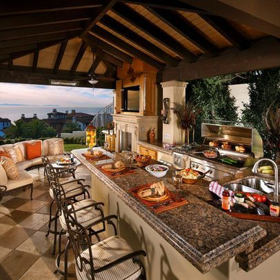 outdoor patio kitchen design idea 30 Fascinating Outdoor Kitchens | Design, Old world and