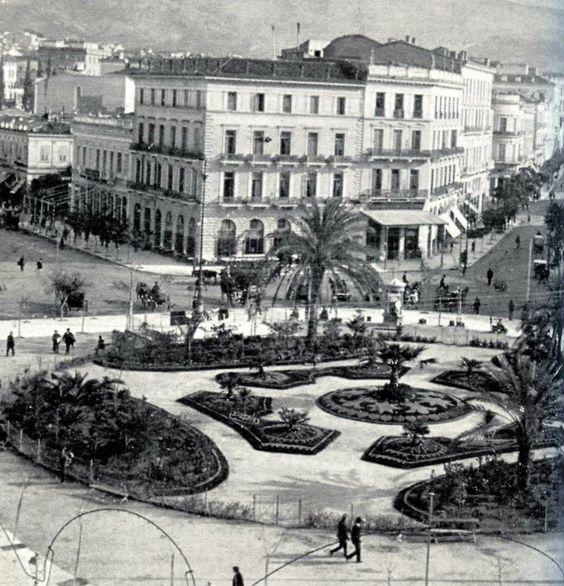 Omonoia square ~ 1903, #solebike, #Athens, #e-bike tours: