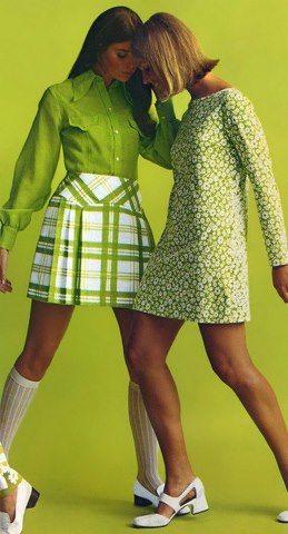 60-as évek divatja a nagyvilágban