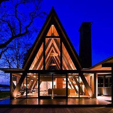 A-Frame Resurgence - A-Frame House - Bob Vila:
