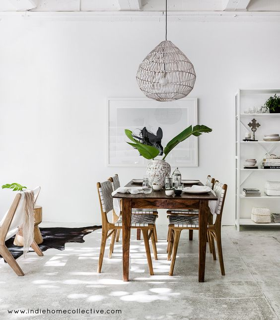 Dining Style- Styling/Photography: Indie Home Collective: