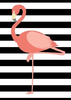 Free Flamingo Printable: